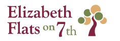 Elizabeth Flats on 7th Logo